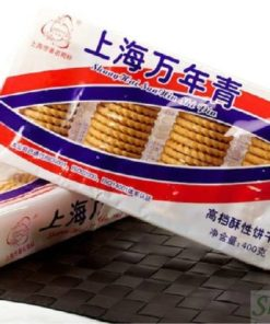Shanghai Evergreen Biscuits 400g - Shanghai Wannian Qing Onion Cracker