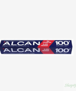 ALCAN ALUMINUM FOIL 100' - STRONG ONE POWER FOIL